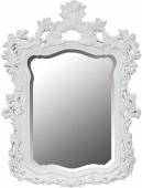 Бяло огледало с орнаменти