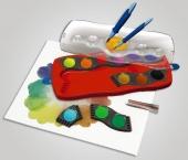 акварелни бои