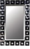 Огледало с черни стъкл.квадрати